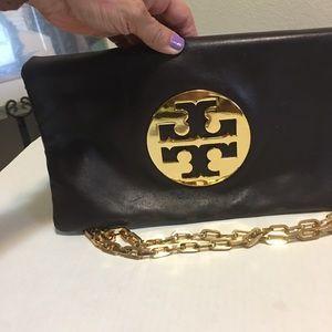 Tory Burch Leather Chain  Bag